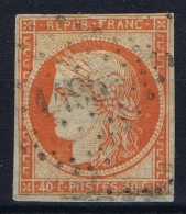 France: Yv Nr 5 A Obl./Gestempelt/used  PC 1495 Le Havre - 1849-1850 Ceres