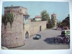 Georgia (Soviet Union): TELAVI - Old Fortress (XVIII. Ct.) - Old Soviet Jeep - Posted 1977 - Georgia