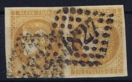 France: Yv Nr 43 A  Obl./Gestempelt/used Cachet  GC 1827 Is-sur-Tille - 1870 Emission De Bordeaux