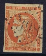 France: Yv Nr 48 C  Obl./Gestempelt/used GC 3982 Toulouse - 1870 Uitgave Van Bordeaux
