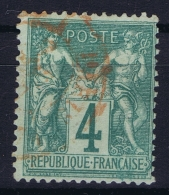 France: Yv Nr 63 I Obl./Gestempelt/used - 1876-1878 Sage (Type I)