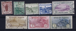 France: Yv Nr 148 - 155  Obl./Gestempelt/used  1917  Yv 154 A Tache Mince/thin Spot - France