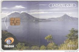 GUATEMALA - Lake Atitlan, First Isssue Q20., Chip GEM3.3, Mint - Guatemala