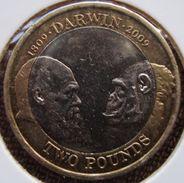 Reino Unido - 2 Libras - 2009 - KM 1115 - 200 Aniversário De Darwin - 2 Pounds