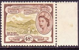 ST KITTS_NEVIS 1954 SG #115 48c MNH - St.Christopher-Nevis & Anguilla (...-1980)