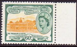 ST KITTS_NEVIS 1954 SG #116 60c MNH - St.Christopher-Nevis-Anguilla (...-1980)