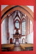 Kirche St.Johannes Marburg Lahn Marburg-Biedenkopf Kugelkirche Altar Hessen AK Nicht Gelaufen - Eglises Et Cathédrales