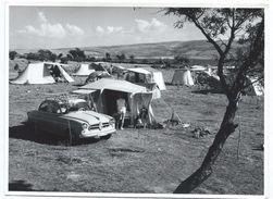 Photographie D'Agence/Terrain De Camping En Yougoslavie//Photo Mladen Groevic/Zagreb /1970                PHOTN267 - Places