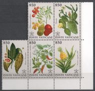 Vatican Plants From America, Columbus, Pflanzen, Piante, Plantes, Plantas, Maize, Cacao, Cactus, Tomato, Ananas, Paprica - Fruits