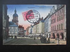 CP ALLEMAGNE (V1702) DIEDENHOFEN (2 Vues) Markplatz 22/09/1912 - Monschau