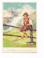 LA VALLE D'AOSTA VI ATTENDE - DA ACQUERELLO MUSATI - NV FG - Aosta