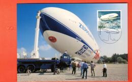 MIA-05 Carte Maximum-Karte Zeppelin NT. Grand Format. Non Circulé - Dirigeables