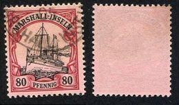 Allemagne, Colonie Allemande, Marshall, Marshall-Inseln, N°21 Oblitéré, Qualité Très Beau - Colonie: Marshall