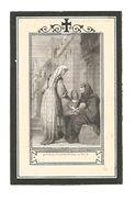 Z 195. Mère MARIE-HENRIETTE De ST. JOSEPH (J. VAN BUSSEL) - °LIEROP 1827 / +Urselinen HAMONT 1872 - Imágenes Religiosas