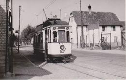 68 - WOLFISHEIM - TRAMWAY - 29.08.1955 - CARTE PHOTO - France