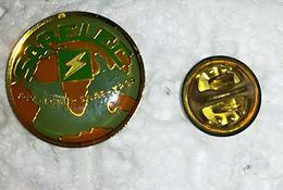 Pin's Electricité - SARELEC - FAV- LCAB - SAAE - YPSA - MAPPEMONDE    P18 - Altri
