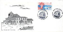 1- SAINT PIERRE ET MIQUELON Yvert 471 Miss Liberty 1986 - FDC