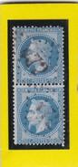 N° 29 B    GC 472     BEZIERS   /  HERAULT  - REF 1296 - Variété + PLANCHAGE Signé - 1863-1870 Napoléon III Lauré
