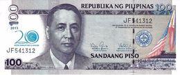 "PHILIPPINES 100 PISO (PESOS) 2013 P-218a UNC COMM. ""20TH ANNIVERSARY"" [PH1073a] - Philippines"