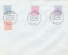 1966 BELGIUM COVER EVENT Pmk BATICOM LIEGE,  Stamps - Belgium