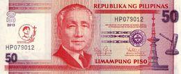 "PHILIPPINES 50 PISO (PESOS) 2013 P-215a UNC COMMEMORATIVE ""ST. PEDRO"" [PH1070a] - Philippines"