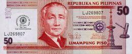 "PHILIPPINES 50 PISO (PESOS) 2013 P-216a UNC COMM. ""TRINITY UNIVERSITY"" [PH1072a] - Philippines"