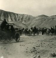Moyen Orient Palestine Jerusalem Route De Jericho Ancienne Stereo Photo NPG 1900 - Stereoscopic