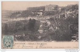 80 - Montdidier - Esplanade Et Palais De Justice - Montdidier