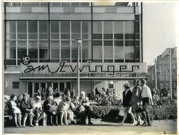 Allemagne De L'Est Dresde Grand Restaurant Am Zwinger Ancienne Photo 1967 - Places
