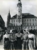 Allemagne De L'Est Bautzen Festival De La Culture Sorabe Ancienne Photo 1972 - Places