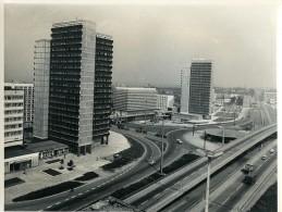 Allemagne De L'Est Halle Place Thalmann Ancienne Photo 1971 - Places