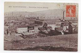 SAINT ETIENNE EN 1917 - N° 323 - NOUVELLES USINES BIETRIX - CPA VOYAGEE - Saint Etienne