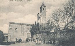 30 // GALLARGUES   L'église - Gallargues-le-Montueux