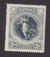 Barbados, Scott #143, Mint Hinged, Victory, Issued 1920 - Barbados (...-1966)