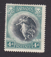 Barbados, Scott #146, Mint Hinged, Victory, Issued 1920 - Barbados (...-1966)