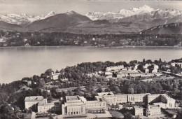 Switzerland Geneve Le Palais Des Nations Unis Et Le Mont-Blanc 1963 Photo - GE Genève