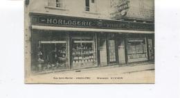 CPA - ANGOULÊME - Maison Vivier , Rue Saint-Martial - Horlogerie, Bijouterie  - Circulée En 1926  - - Angouleme