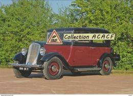 Renault Primaquatre Luxe KZ 10 DE De 1933  - - Turismo