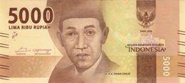 INDONESIA 5000 RUPIAH 2016 (2017) P-156b UNC  [ID611b] - Indonesia