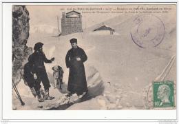 73 - Col Du Petit St-bernard - Recteur De L'hospice Et Lieutenant Du Poste De La Redoute Ruinee - Autres Communes