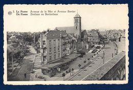 La Panne. Avenue De La Mer, église Notre-Dame De Fatima Et Avenue Bortier Avec La Pension Regina Maris.1956 - De Panne