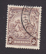 Barbados, Scott #197, Used, Badge Of The Colony, Issued 1938 - Barbados (...-1966)