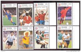 UGANDA SCOTT MINT N H # 1145-52  ( WORLD CUP 1994 FOOTBALL SOCCER - Ouganda (1962-...)