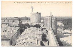 30 - Remparts D'AIGUES-MORTES - Les Tours De La Gardette Et De Constance - Ed. ND Phot N° 49 - Aigues-Mortes
