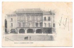 """30 - Mairie De BAGNOLS SUR CÈZE - Ed. Mme Villaine à Bagnols - Cpa """"précurseur"""" 1902 - Bagnols-sur-Cèze"""