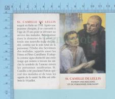 Religion - Porte Bonheur, Croix Bénite Pour Les Malades, De St-Camille De Lellis Patron Des Malades & Personnel Soig - Religion & Esotericism