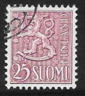 Finland, Scott # 322 Used Lion Arms, 1959 - Finland