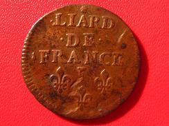 Liard De France Louis XIV 1655 I Limoges 4595 - 987-1789 Monnaies Royales