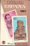 1967 Catalogo Ilustrado Sellos España - Ricardo De Lama -CURIOSIDAD - Spagna