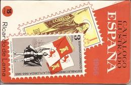 1966 Catalogo Ilustrado Sellos España - Ricardo De Lama -CURIOSIDAD - Spagna